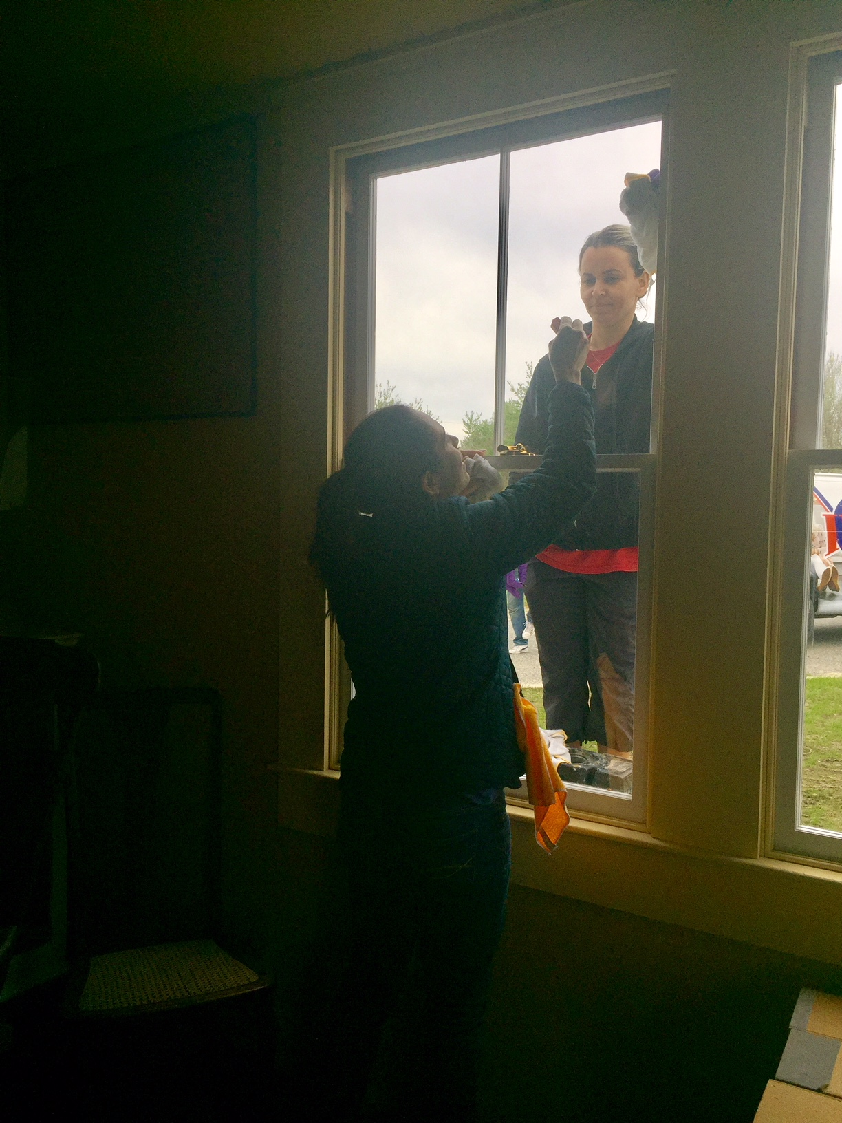 Window cleaning at the HHM